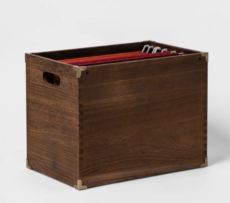 Simple Wooden Storage Cabinet