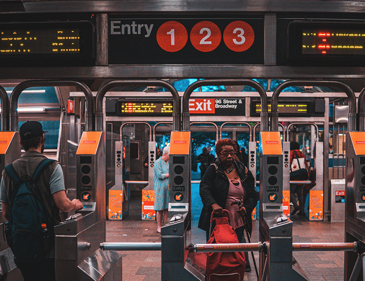 Subway Graphics and Design
