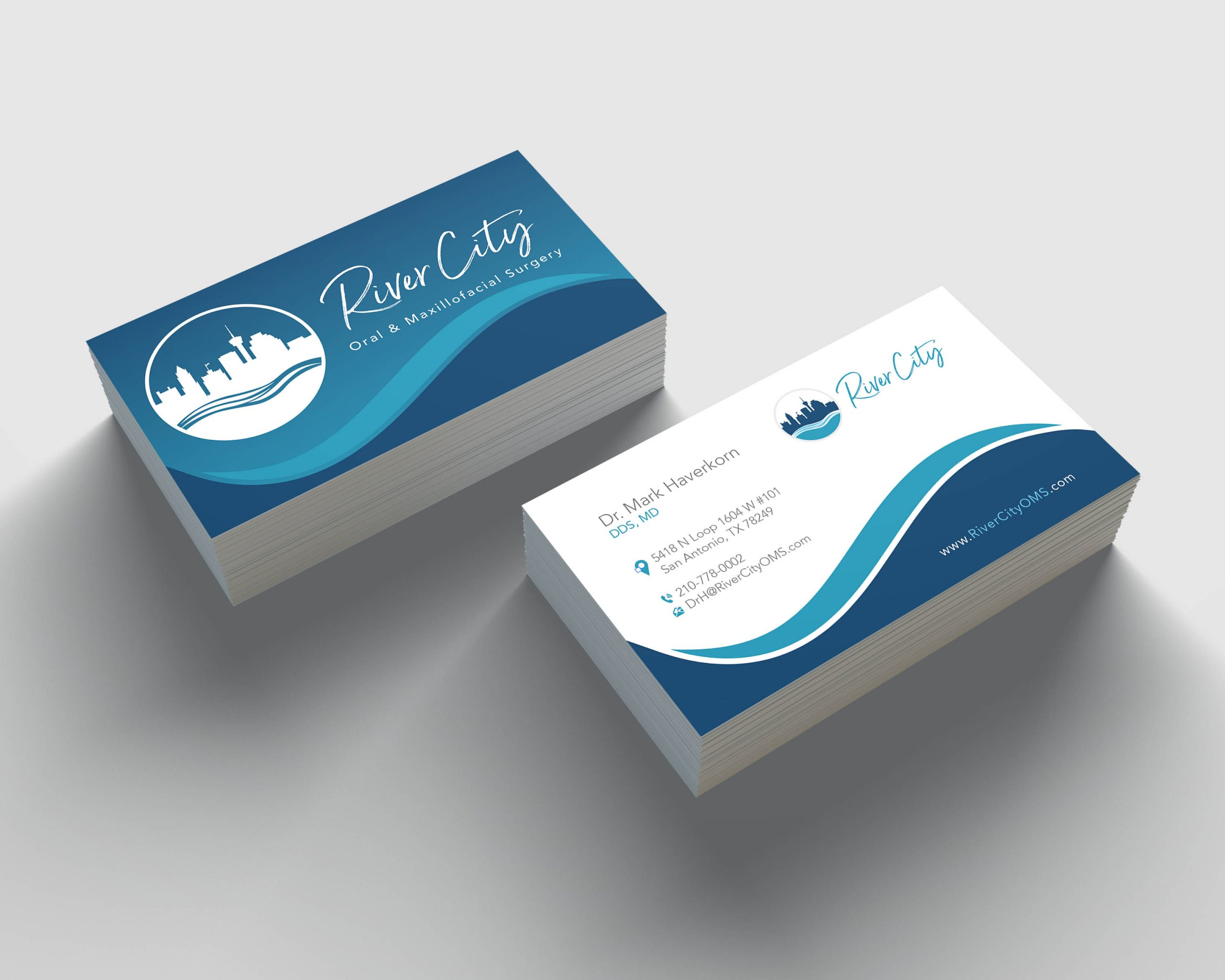 River City OMS Business Cards
