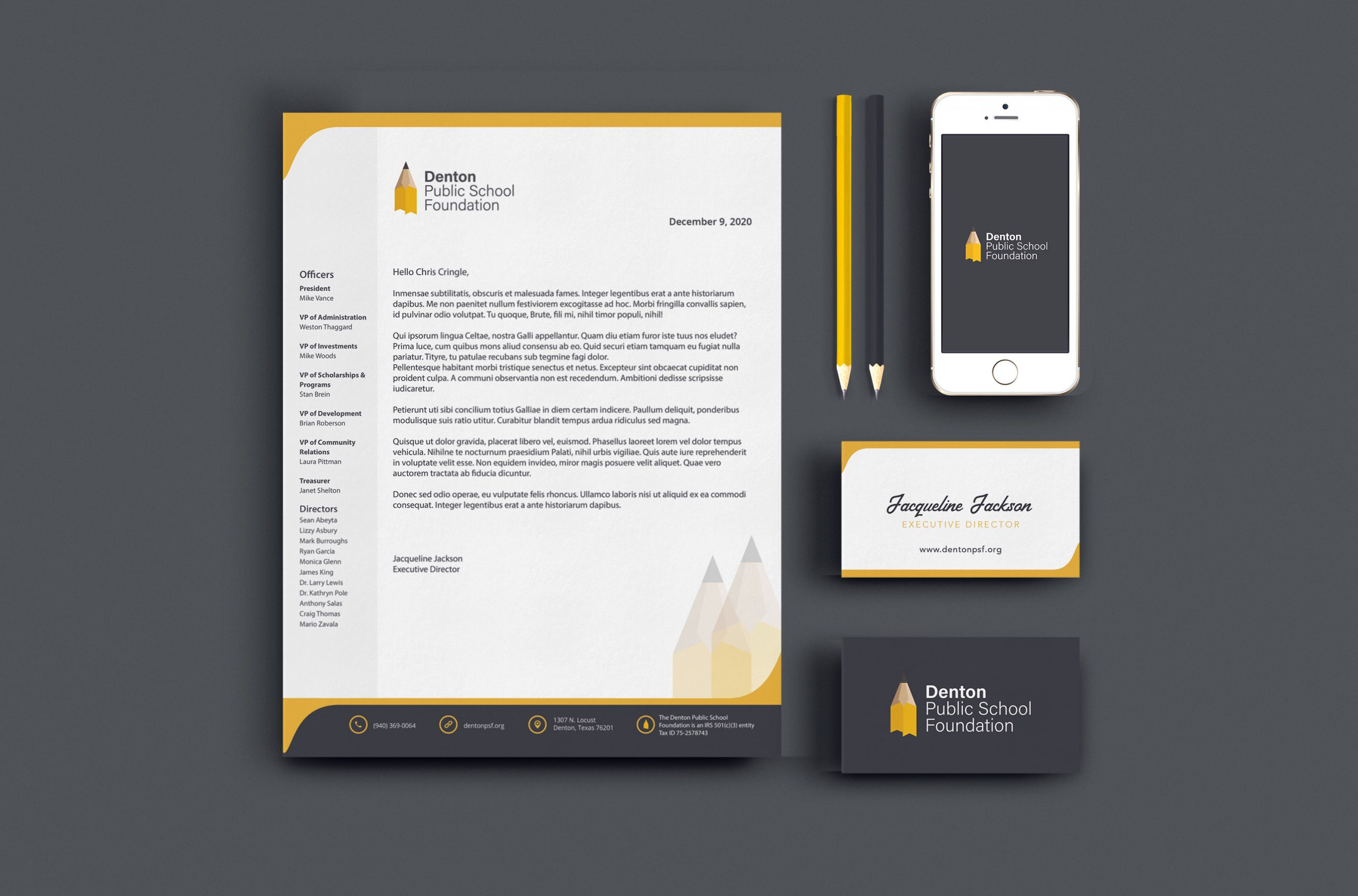 Logo and Branding For a Local Education Non Profit